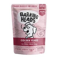 Barking Heads Dog Pouch - Golden Years 300g x 10