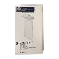 Sebo Brand Fleeced Microfibre Vacuum Bags 8 Pk