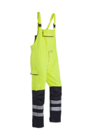 Sioen Pedley Hi-vis bib & brace trousers with ARC protection (Cl 2)