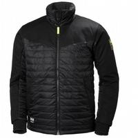 Helly Hansen Black Aker Insulated Jacket