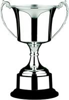 36cm Nickle Plated Studio Cup & Plinth