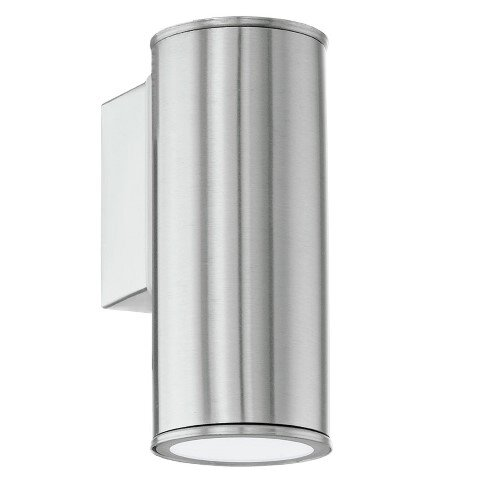 Eglo Riga LED Down Wall Light Stainless Steel