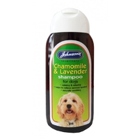 Johnson's Chamomile & Lavender Shampoo 200ml x 6