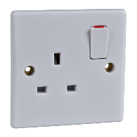 Schneider Ultimate 1Gang Switched Socket IP20