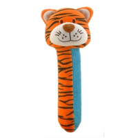 Tiger Squeakaboo toy for babies