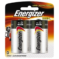 Energizer Max D Battery Packet 2