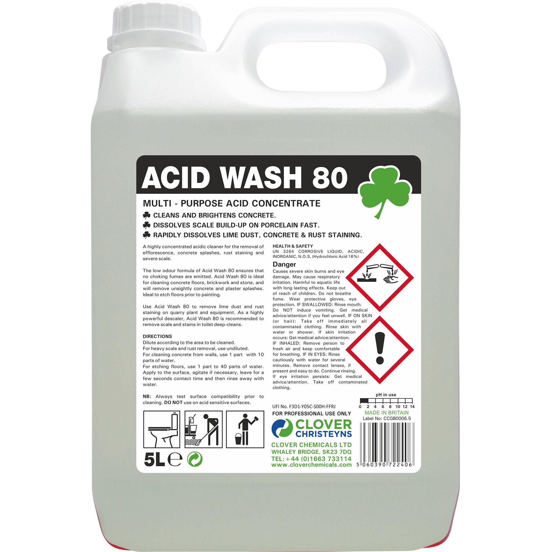 5L ACID WASH 80