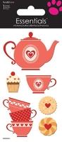 >< Tea Party Essential Craft Sticker.