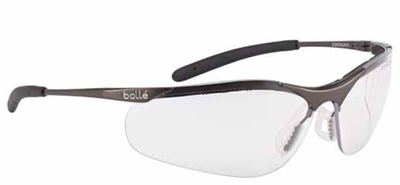 BOLLE CONTOUR METAL FRAME CLEAR A/M GLASSES