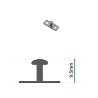 Stud Plate 9.5mm for Restrictor Catches