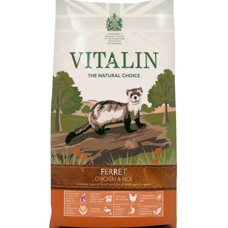 Vitalin Chicken & Rice Ferret Food 12kg