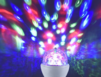 3W RGB DISCO EFFECT LED LAMP E27