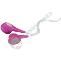 Pink Earphones - Jelly