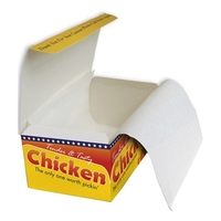 "Chicken Box Liner (G/Proof Paper) FC0-(3000x5x14""/4kg)"""