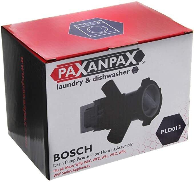 Compatible Bosch 'Maxx' Drain Pump Base & Filter Housing Assembly