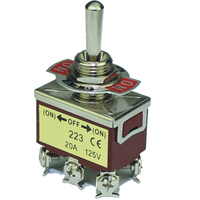 Switch| Toggle Switch 3Pins SPDT ON-(ON) 20A 125VAC