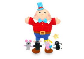 Humpty Dumpty Hand and Finger Puppet Set