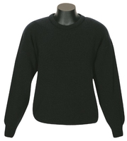 MKM Backyard Crew Neck Fisher Rib 100% Wool Jersey