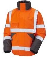 LEO BICKINGTON Orange Bomber Jacket