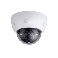 IC Realtime 6MP ePoE IP H.265E Motorised 50m IR IK10 Dome Camera with Audio/Alarm I/O *Lens option 2.7~13.5mm
