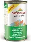 Almo Nature Classic Cat Can - Tuna & Corn 280g x 12