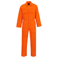 Portwest BizWeld Boilersuit Hi-Vis Orange