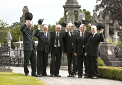 Joyceans in Full Bloom at Glasnevin Cemetery