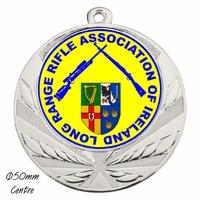 70mm Medallion (Silver)