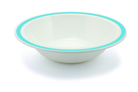 New Duo Summer Blue - 17.3cm Rimmed Bowl