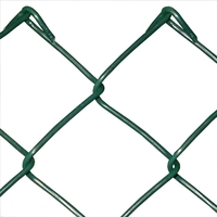 Green Chain Link 25m(W) x 1.5m(H) x 3.15/2.24mm(D)