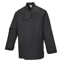Portwest Somerset Chef Jacket Black