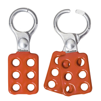 Master Lock Aluminum lockout hasp, 25mm jaw clearance