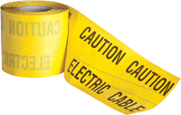 ELECT/DET DETECTABLE ELECTRIC HAZARD TAPE 150MM X 100M