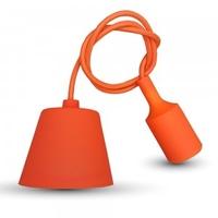 Orange Silicone Pendant
