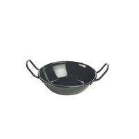Black Enamel Dish 14cm