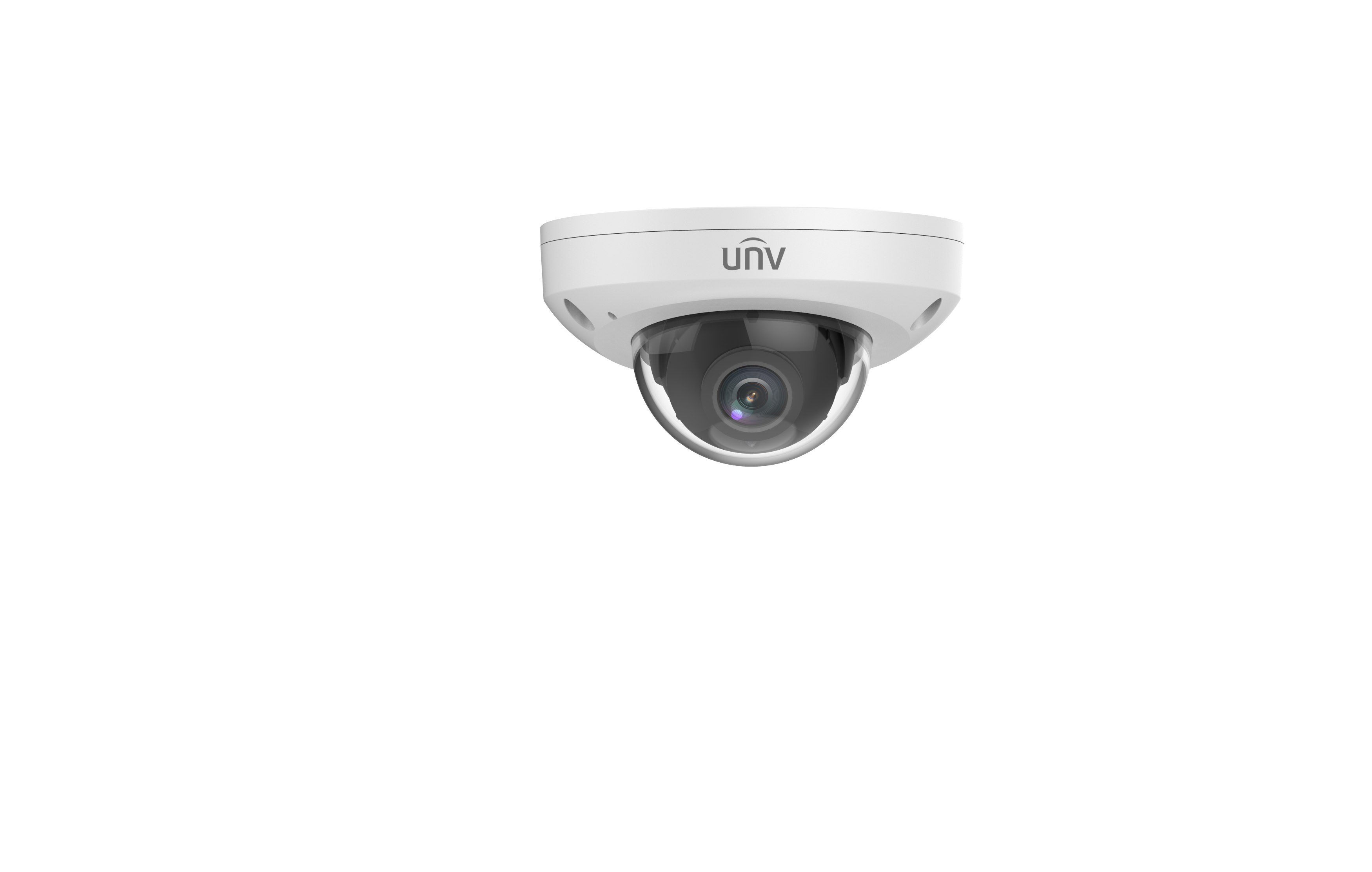 Uniview 4MP H.265 3.6mm Fixed Wedge Dome with 15m IR