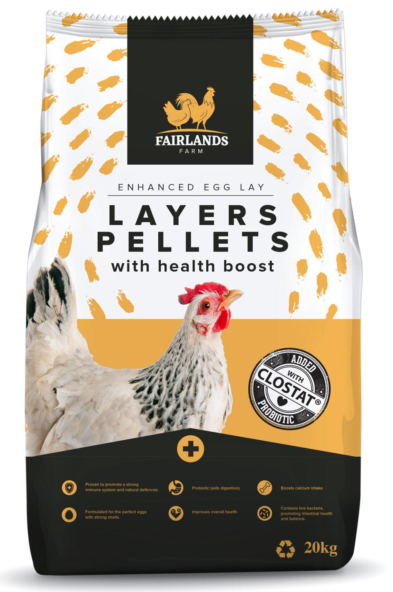 Fairlands Farm Layers Pellets 20kg
