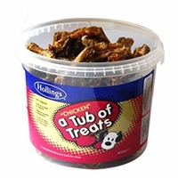 Hollings Tub of Treats - Chicken 450g x 1