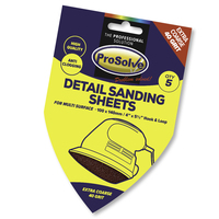 PVDSP40 PROSOLVE DETAIL SAND SH H&L 100X140MM 5PC