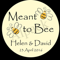 MEANT TO BEE LABEL