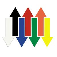 Ergomat Durastripe Xtreme Arrows 25cm x 9.5cm (30 Per Pack )