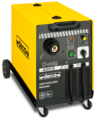 Deca DMig 200Amps  with Torch  Earth 1 Phase