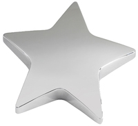 9cm Star Paper Weight (Silver)