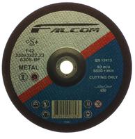 "FALCOM STEEL CUTTING DISC DEPRESSED CENTRE 9""- 230MM"