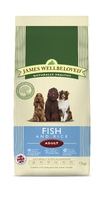 James Wellbeloved Adult Dog - Fish & Rice 15kg