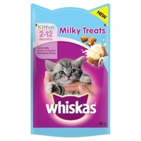 Whiskas Kitten Milky Treats 55g x 8