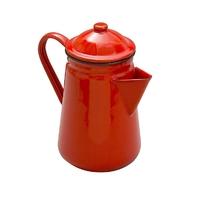 Falcon Enamel Coffee Pot 13cm/1.3L in Red