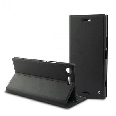 Ksix Black Folio Case for Xperia XZ Premium