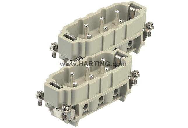 12+ Earth Male Connector Screw Terminal 7-12  Size 32B (Current Rating  400/690V  35A)