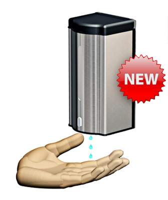 Electronic Sanitiser Gel Dispenser, Wall Mounted